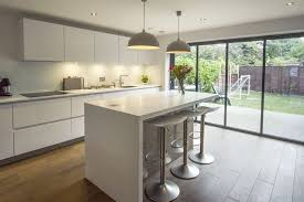 German Designer Kitchens by Ips Pronorm Designed This Contemporary White Handleless Kitchen