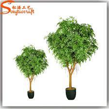 factory wholesale types of imitation bonsai trees