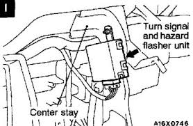 where to find the blinker relay for a 99 mitsubishi eclipse