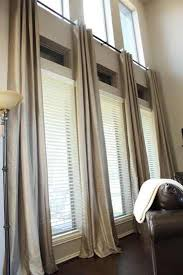 Curtains And Rods Ready Made Extra Long Curtains Tall Windows Window And Living