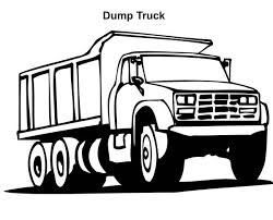 dump truck coloring pages bestofcoloring com