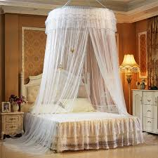 Mosquito Net Bed Canopy Luxury Hang Dome Mosquito Net Princess Students Insect