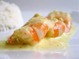 cuisiner avec du lait de coco recette crevettes au safran et lait de coco cuisinez crevettes au