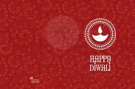 Diwali Invitation Cards For Party Diwali Greeting Card Red Paisley Happy Diwali Lamp