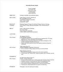 resume templates for internships college internship resume template vasgroup co