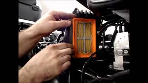 max bmw garage r1200rt air filter replacement youtube