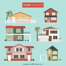 illustrations of houses group 66