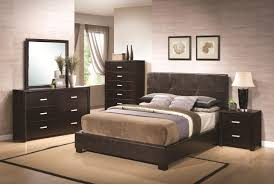 bedroom dark vanity set ikea with elegant tufted bed and leather