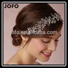 hair accessories for indian weddings luxury handmade rhinestone pearl hair band new brand bridal hair