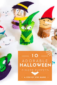 cutest halloween finger puppets craft free patterns and tutorial