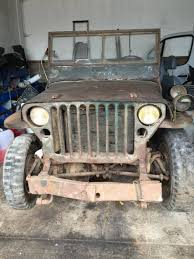 korean war jeep willys mb brought back from normandy u2013 argunners