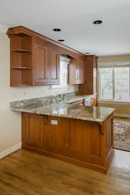 rustic cherry custom cabinets in fairfield ct u2014 ackley cabinet llc