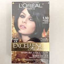saphire black hair l oreal excellence fashion hair colour 1 10 sapphire black