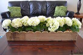 Wood Planter Box Plans Free by How To Build A Scalloped Planter Box Centerpiece