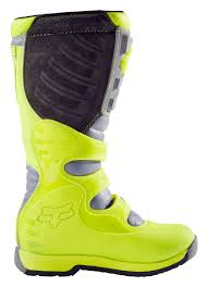 green dirt bike boots fox racing youth comp 5 boots cycle gear