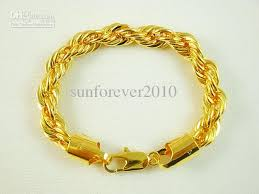rope bracelet designs images New design fashion gold plated rope chains brass bracelet 10mm jpg