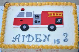 firetruck cakes truck birthday cake gluten free