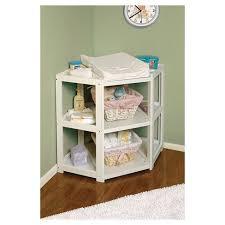White Baby Changing Table Badger Basket White Corner Baby Changing Table Target