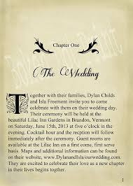 Print Your Own Wedding Programs Book Themed Wedding Invitations Book Themed Wedding Invitations To