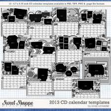 cindy u0027s templates 2013 cd calendar templates digital