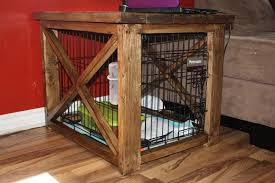 coffee table dog crate 5355