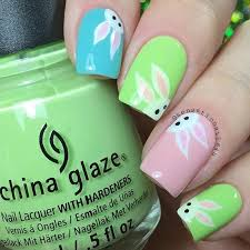 Easter Nail Designs 25 Bunny Nail Designs For Spring Mani Bunny Nails Bunny And Spring