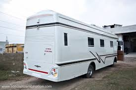 Luxury Caravan by Motor Home Made On Eicher Concept Combination Caravans