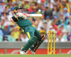 david warner tries to play a short delivery photo australia v