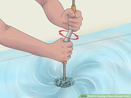 Clogged Bathtub Standing Water 5 Ways To Unclog A Slow Shower Drain Wikihow