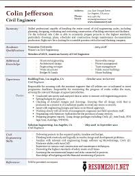Civil Engineering Resume Templates Application Letter Ghostwriting Site Online Resume Qualification