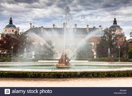 diana myth ornamental fountains of the palace of aranjuez madrid