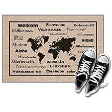Welcome Doormats Amazon Com Rubber Cal Welcome Doormat 18 Inchx30 Inch Home