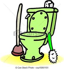 Bathroom Clipart Clipart Vector Of Toilet Csp15061151 Search Illustration