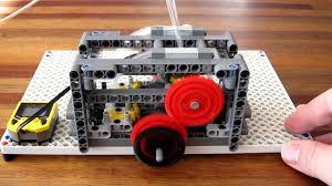 lego subaru brz lego pneumatic engine flat 4 small cylinder 2600rpm youtube