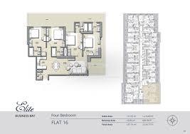 elite business bay 4 bedroom dubai properties launch