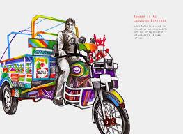 tricycle cartoon kanchan dhankani