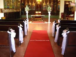 wedding church decorations wedding planner and decorations