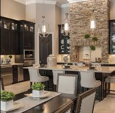 Dark Cabinets Kitchen Ideas Best 25 Luxury Kitchen Design Ideas On Pinterest Beautiful