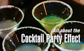 What Is The Meaning Of Cocktail Party - the cocktail party effect