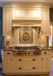 tile medallions for kitchen backsplash circle medallion supplied by sonoma tile traditional kitchen