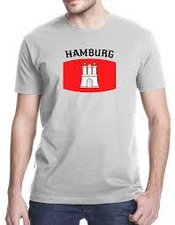 Chicago Flag Apparel Amazon Com Hamburg Germany City Flag T Shirt Clothing