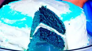how to make a blue velvet cake youtube