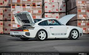 rare porsche 959 sport headed to paris for no reserve auction u2013 p9xx