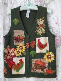 thanksgiving vest 21 awesomely tacky thanksgiving sweaters forevergeek