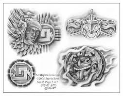 aztec designs and ideas