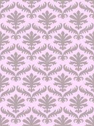Western Drapery Vector Wrapping Leaves Damask Seamless Floral Pattern Background