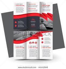 tri fold business brochure template tri fold brochure template