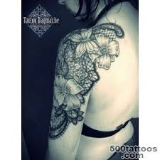 lace tattoo designs ideas meanings images