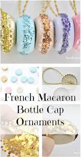 macaron ornaments macaron ornament and cap
