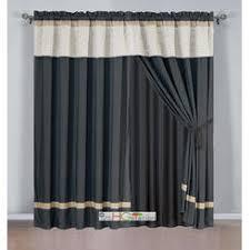 Matelasse Valance Beige U0026 Tan Tier Curtains Sears